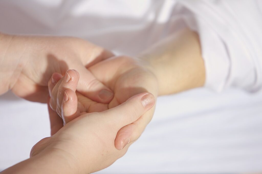 Hand and arm massages provided with most facials treatments